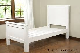 Woodworking Plans Twin Bed Frame by Build A Diy Twin Bed U2039 Build Basic