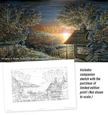 sunset retreat limited edition print wild wings