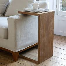 side table sofa side table ideas living room oversized throw