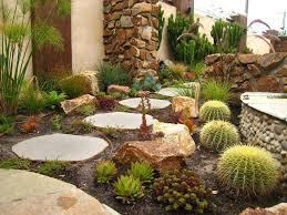 good looking garden stepping stones trend cacti cactus garden path