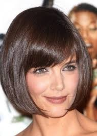 best short hairstyles with bangs for straight thin hair in honey