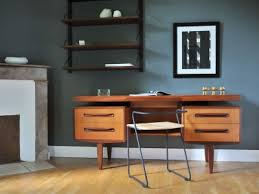 bureau vintage design bureau vintage teck design scandinave kofod larsen g plan