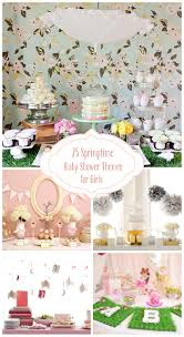 themes for baby showers 25 springtime baby shower themes for