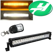 24 inch led light bar offroad yintatech 24inch dual color 120w combo beam led light bar work l