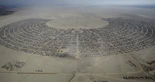 Black Rock City Map Photos From Burning Man 2015 The Atlantic