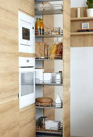 rangement angle cuisine rangement angle cuisine les colonnes de rangement coulissantes sur