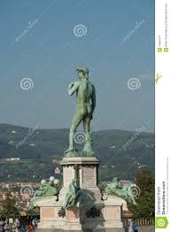 bronze statue of david italy florence stock image image 19934271