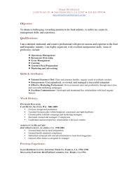 Best Resume Qualifications by Waiter Skills Resume Virtren Com