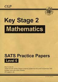 ks2 maths sats practice papers level 6 for sats until 2015 only