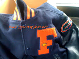 josten letterman jacket sports rings miscellaneous uf florida gators football