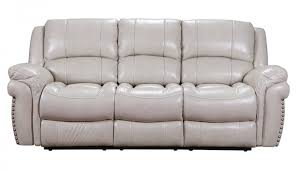 Reclinable Sofa by Milton Ivory Reclining Sofa Home Zone Furniture Living Room