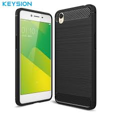 Oppo A37 Keysion Phone For Oppo A37 Phone Cover Carbon Fiber Brushed