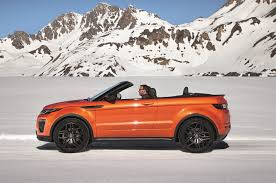 convertible land rover vintage 5 things to know about the 2017 range rover evoque convertible