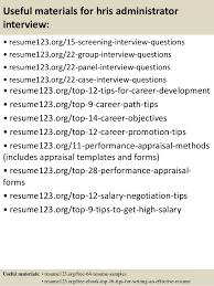 Hris Analyst Resume Sample by Top 8 Hris Administrator Resume Samples