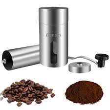 Manual Coffee Grinders Stainless Steel Manual Coffee Grinder With Adjustable Ceramic Conical