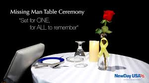 Fallen Comrade Table by Missing Man Table Press Video Youtube