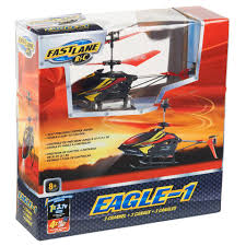 fast lane 3 channel eagle 1 helicopter toys