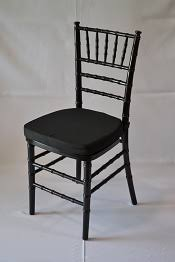 black chiavari chairs black resin chiavari chair with white cushion superior party rentals