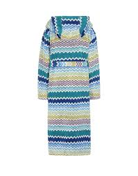 women towelling robes women on missoni online store