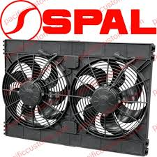 electric radiator fans spal usa dual high performance automotive electric radiator fans 12