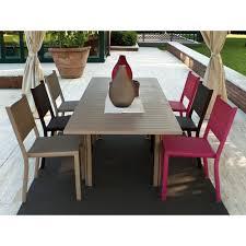 chaises fermob chaise de jardin empilable costa fermob achat en ligne