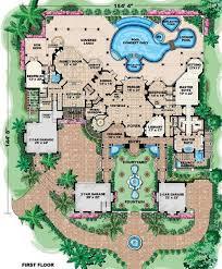mansion plans 6 bedroom 7 bath mansion house plan alp 08cf allplans