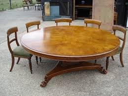 Big Dining Room Tables Best 25 Large Round Dining Table Ideas On Pinterest Large Round
