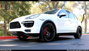 porsche cayenne black wheels how much will you spend modifying your cayenne