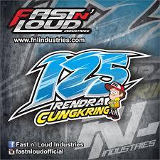 gambar desain nomer racing 125 rendra cungkring nomorstart fnl industries