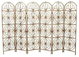 vintage hollywood regency bamboo screen modern screens and