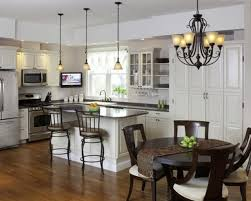 Kitchen Chandelier Ideas Matching Pendant And Chandelier Home Design Ideas Pictures For