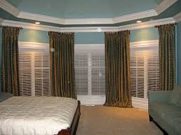 bay window curtain rods bed bath and beyond modern bay window