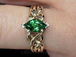 engagement rings green images One carat marquise tsavorite green garnet puzzle ring puzzle jpg