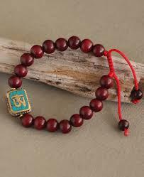 adjustable bead bracelet images Tibetan om rosewood bead bracelet handmade jpg