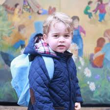 Anmer by Prince George Arrives For First Day At His New Montessori Nursery