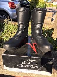 which motorcycle boots alpinestars motorcycle boots size 43 9 excellent condition