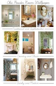 Wallpaper Powder Room Powder Room Wallpaper Megan Bachmann Interiors