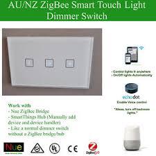alexa light switch dimmer smart zigbee dimmer switch for google home mini alexa voice control