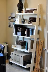 Wood Magazine Ladder Shelf Plans by Ana White Leaning Wall Shelf Diy Projects