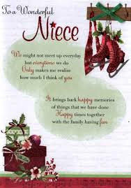 wedding wishes for niece to a wonderful niece christmas greeting card cards kates