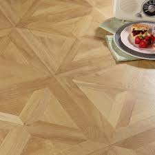 Lamination Flooring Staccato Natural Oak Parquet Effect Laminate Flooring 1 86 M Pack