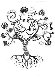 103 best tattoos family tree images on pinterest coloring book