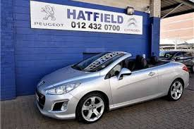peugeot south africa peugeot convertibles for sale in south africa auto mart