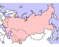 former soviet union map capitals of the former soviet union republics
