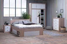Bedroom Sets Jysk Bed Frame Favrbo 180x200cm Oak White Jysk