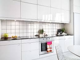 interior splendid small white gloss galley kitchen decoration