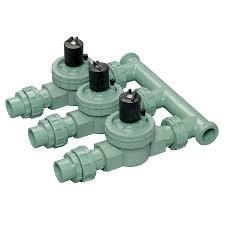 shop orbit 0 75 in plastic electric inline irrigation valve at