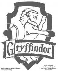 harry potter printable coloring pages gryffindor crest