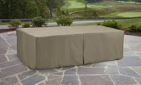 Oasis Outdoor Patio Furniture by Garden Oasis Oversized Rectangle Patio Furniture Set Cover