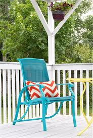 How To Spray Paint Patio Furniture Diy Upcycled Deck Furniture Accessories